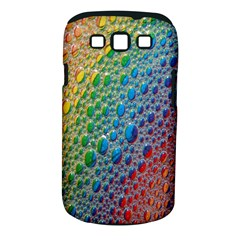 Bubbles Rainbow Colourful Colors Samsung Galaxy S III Classic Hardshell Case (PC+Silicone)