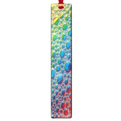 Bubbles Rainbow Colourful Colors Large Book Marks