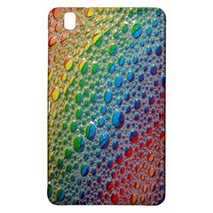 Bubbles Rainbow Colourful Colors Samsung Galaxy Tab Pro 8.4 Hardshell Case