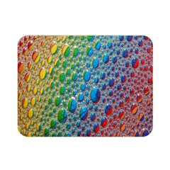 Bubbles Rainbow Colourful Colors Double Sided Flano Blanket (Mini)