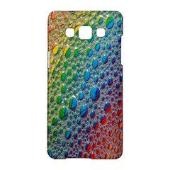 Bubbles Rainbow Colourful Colors Samsung Galaxy A5 Hardshell Case
