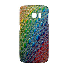 Bubbles Rainbow Colourful Colors Galaxy S6 Edge