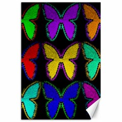 Butterflies Pattern Canvas 20  x 30