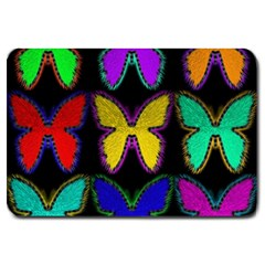 Butterflies Pattern Large Doormat