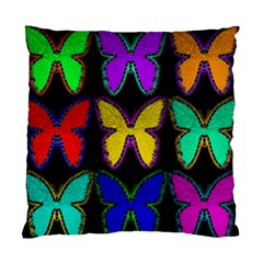 Butterflies Pattern Standard Cushion Case (One Side)