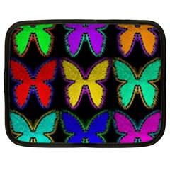 Butterflies Pattern Netbook Case (xl)