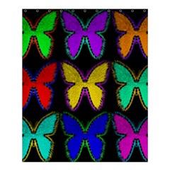 Butterflies Pattern Shower Curtain 60  x 72  (Medium)