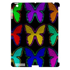 Butterflies Pattern Apple iPad 3/4 Hardshell Case (Compatible with Smart Cover)