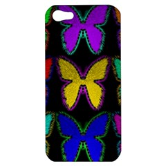 Butterflies Pattern Apple Iphone 5 Hardshell Case
