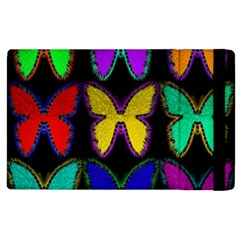 Butterflies Pattern Apple iPad 3/4 Flip Case