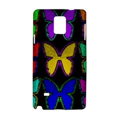Butterflies Pattern Samsung Galaxy Note 4 Hardshell Case