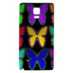Butterflies Pattern Galaxy Note 4 Back Case