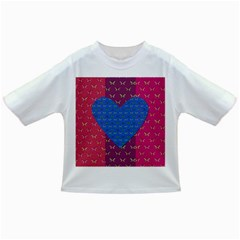 Butterfly Heart Pattern Infant/Toddler T-Shirts