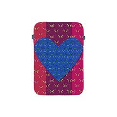 Butterfly Heart Pattern Apple Ipad Mini Protective Soft Cases