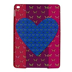 Butterfly Heart Pattern iPad Air 2 Hardshell Cases