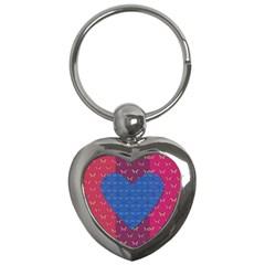 Butterfly Heart Pattern Key Chains (Heart)