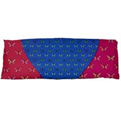 Butterfly Heart Pattern Body Pillow Case Dakimakura (Two Sides)
