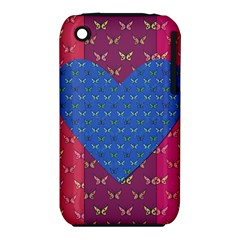 Butterfly Heart Pattern Iphone 3s/3gs