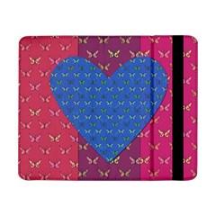Butterfly Heart Pattern Samsung Galaxy Tab Pro 8 4  Flip Case