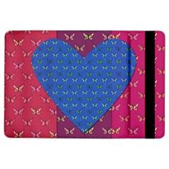 Butterfly Heart Pattern Ipad Air 2 Flip