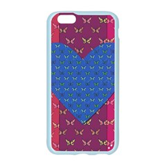 Butterfly Heart Pattern Apple Seamless iPhone 6/6S Case (Color)