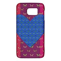 Butterfly Heart Pattern Galaxy S6