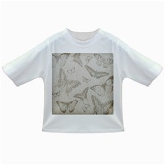 Butterfly Background Vintage Infant/Toddler T-Shirts
