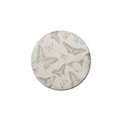 Butterfly Background Vintage Golf Ball Marker (4 Pack)