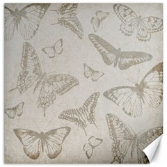 Butterfly Background Vintage Canvas 12  X 12