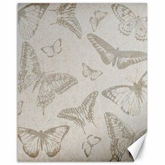 Butterfly Background Vintage Canvas 16  x 20
