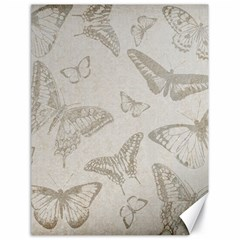 Butterfly Background Vintage Canvas 18  X 24