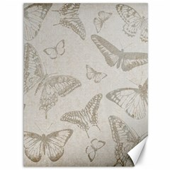 Butterfly Background Vintage Canvas 36  x 48