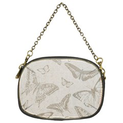 Butterfly Background Vintage Chain Purses (One Side)