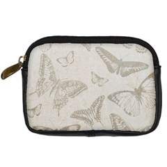 Butterfly Background Vintage Digital Camera Cases