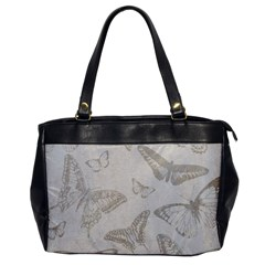 Butterfly Background Vintage Office Handbags