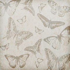 Butterfly Background Vintage Magic Photo Cubes