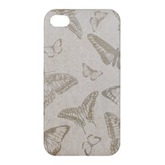 Butterfly Background Vintage Apple iPhone 4/4S Hardshell Case