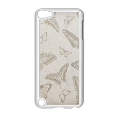 Butterfly Background Vintage Apple iPod Touch 5 Case (White)