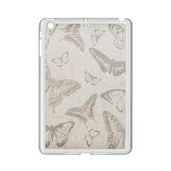 Butterfly Background Vintage Ipad Mini 2 Enamel Coated Cases