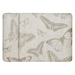 Butterfly Background Vintage Samsung Galaxy Tab 8.9  P7300 Flip Case