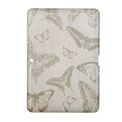 Butterfly Background Vintage Samsung Galaxy Tab 2 (10 1 ) P5100 Hardshell Case