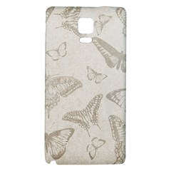 Butterfly Background Vintage Galaxy Note 4 Back Case