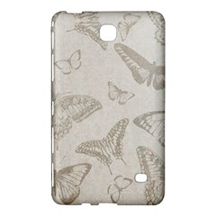 Butterfly Background Vintage Samsung Galaxy Tab 4 (7 ) Hardshell Case