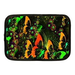 Butterfly Abstract Flowers Netbook Case (Medium)