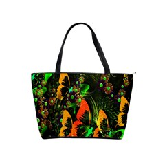 Butterfly Abstract Flowers Shoulder Handbags