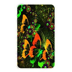 Butterfly Abstract Flowers Memory Card Reader