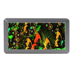 Butterfly Abstract Flowers Memory Card Reader (Mini)