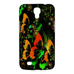 Butterfly Abstract Flowers Samsung Galaxy Mega 6.3  I9200 Hardshell Case