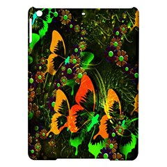 Butterfly Abstract Flowers iPad Air Hardshell Cases