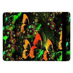Butterfly Abstract Flowers Samsung Galaxy Tab Pro 12.2  Flip Case